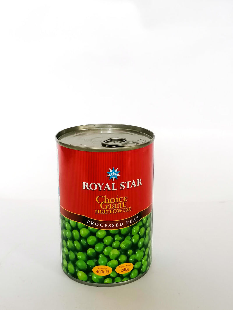 Royal Star - Peas   400g Easy Open - The online warehouse