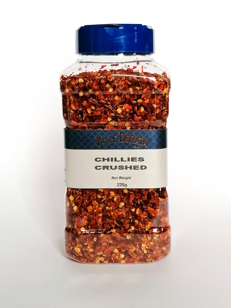 Valle Dorata - Chillies Crushed 150g - The online warehouse