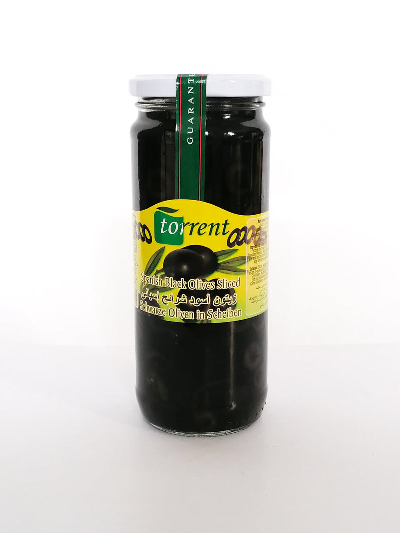 Torrent - Black Olives Whole  440 g - The online warehouse