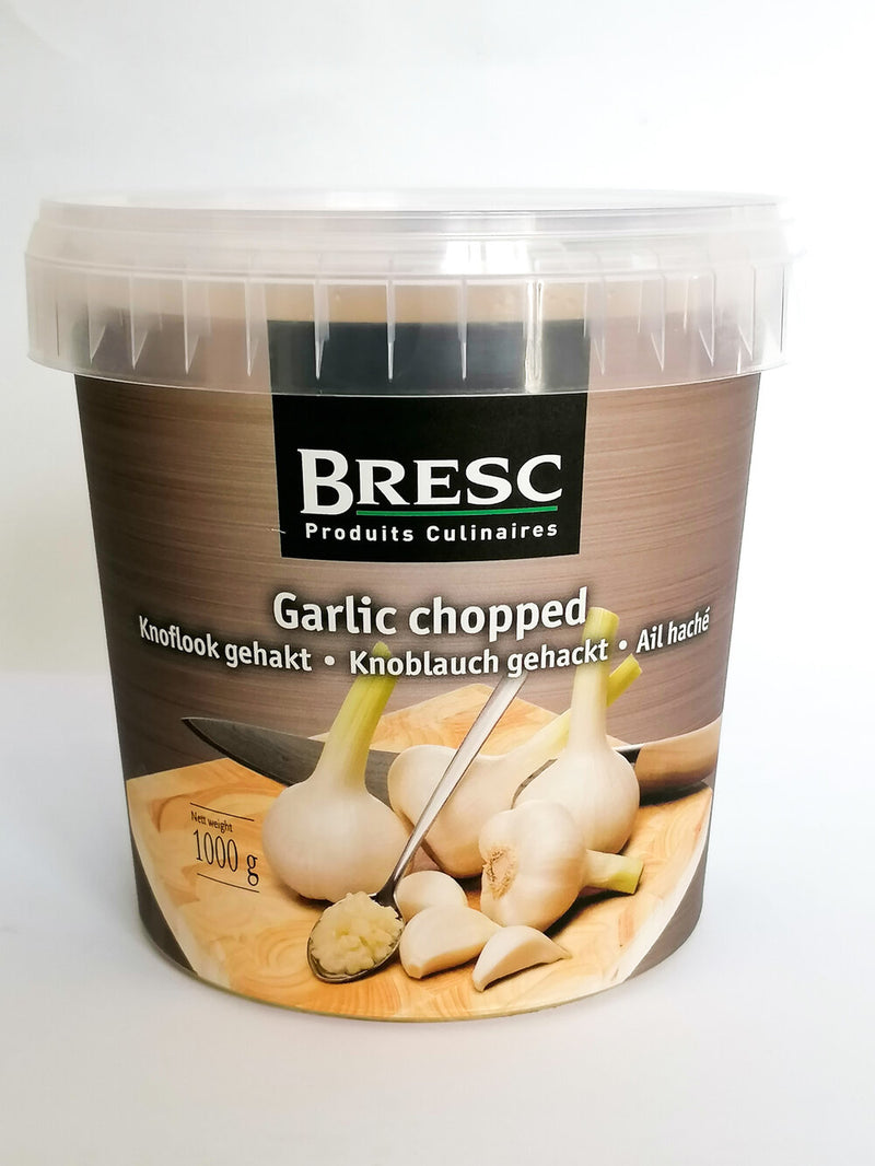 Bresc - Fresh Chopped Garlic  1kg - The online warehouse