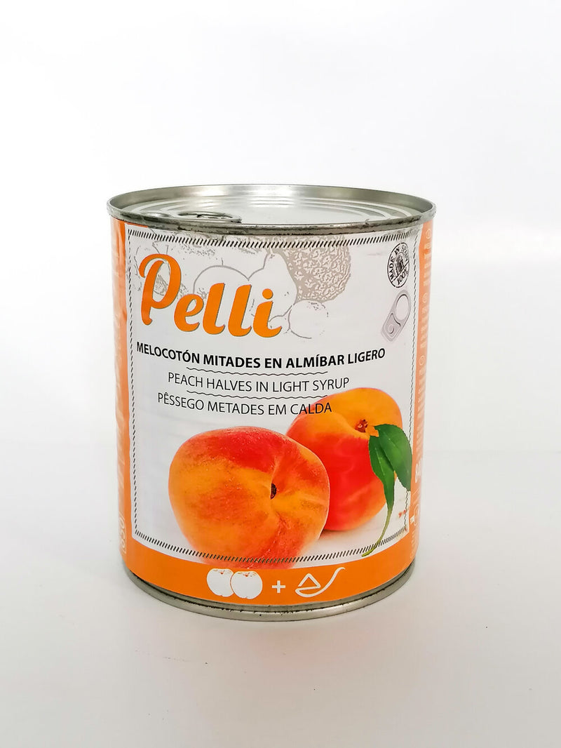 Pelli - Peaches Sliced    400g - The online warehouse