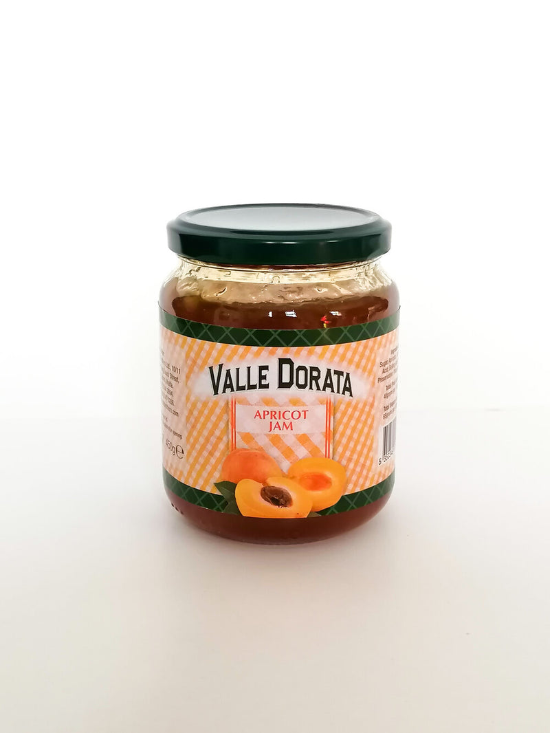 Valle Dorata - Apricot Jam    450g - The online warehouse