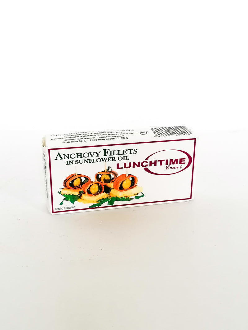 Anchovy Fillets  50g - The online warehouse