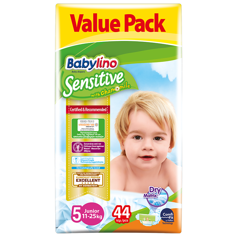 Baby Lino Sensitive Econ 5 x 44pcs - The online warehouse