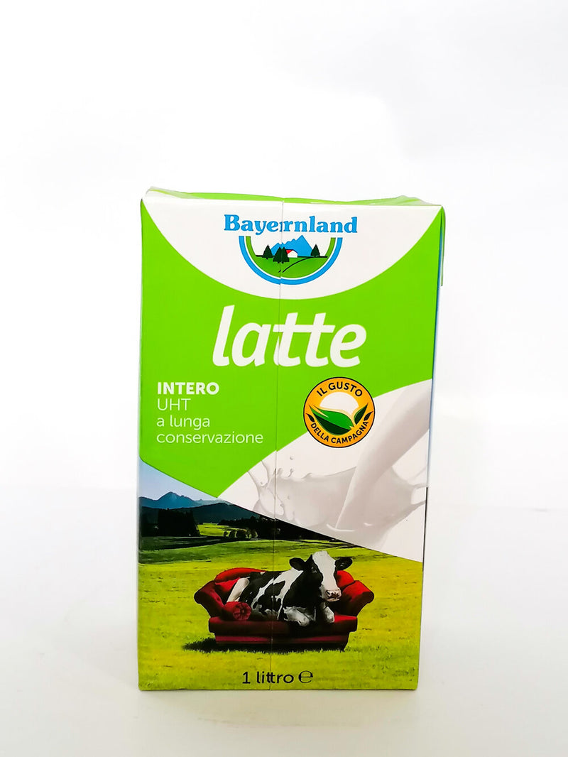 Bayerland - Uht Milk Full Cream 3.5%  1lt - The online warehouse
