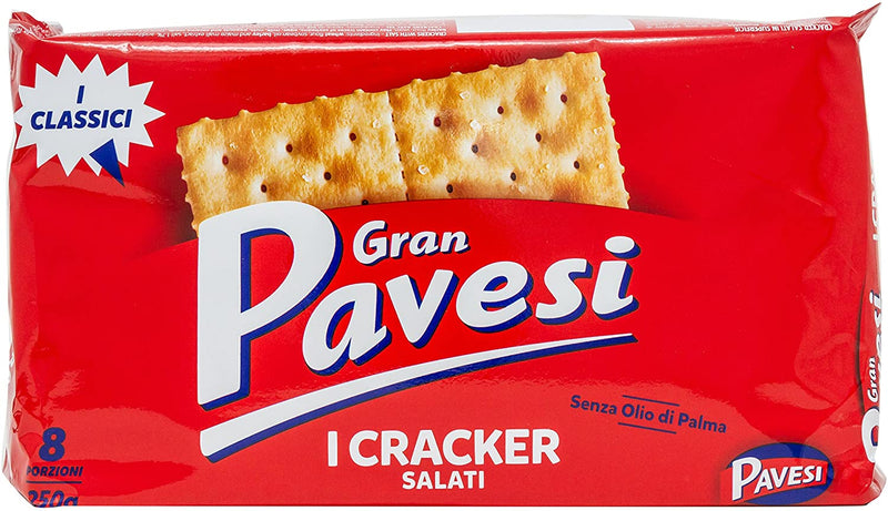 Pavesi - Crackers Salted 250g - The online warehouse