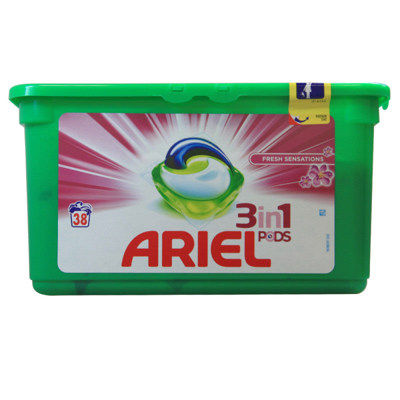 Ariel Pods 3In1 Fresh Sensations x 38 Large - The online warehouse