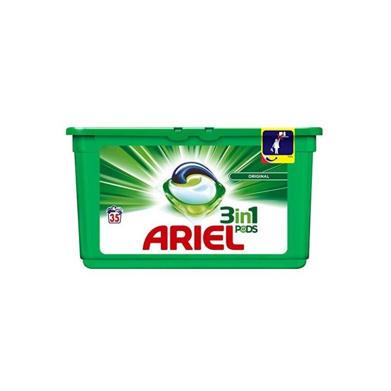 Ariel Pods 3 In 1 Whites Original x 35 Large - The online warehouse