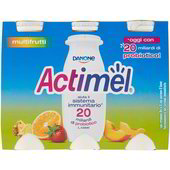 Danone -  Actimel Multifrutta    6x100ml - The online warehouse