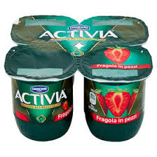 Danone -  Activia Fragola        4x125g - The online warehouse
