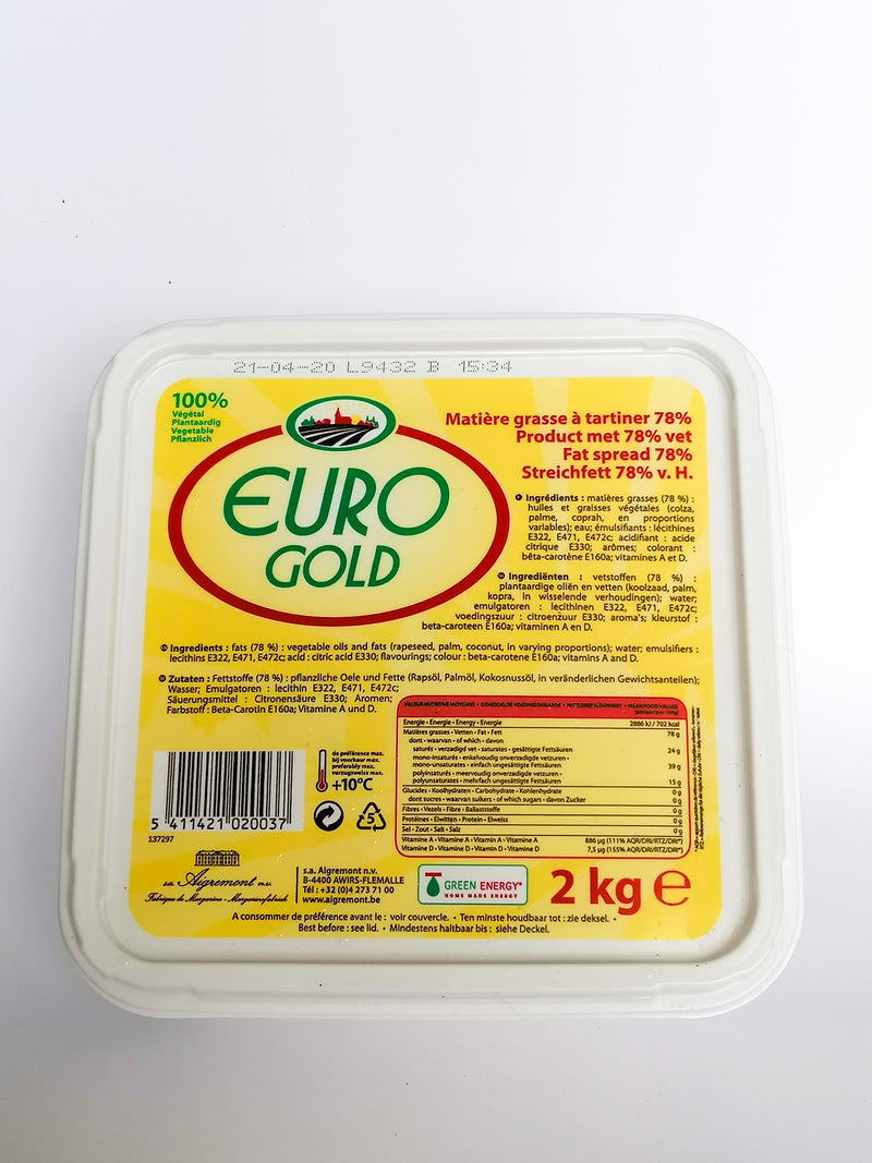 Euro Gold Butter Spread  2kg - The online warehouse
