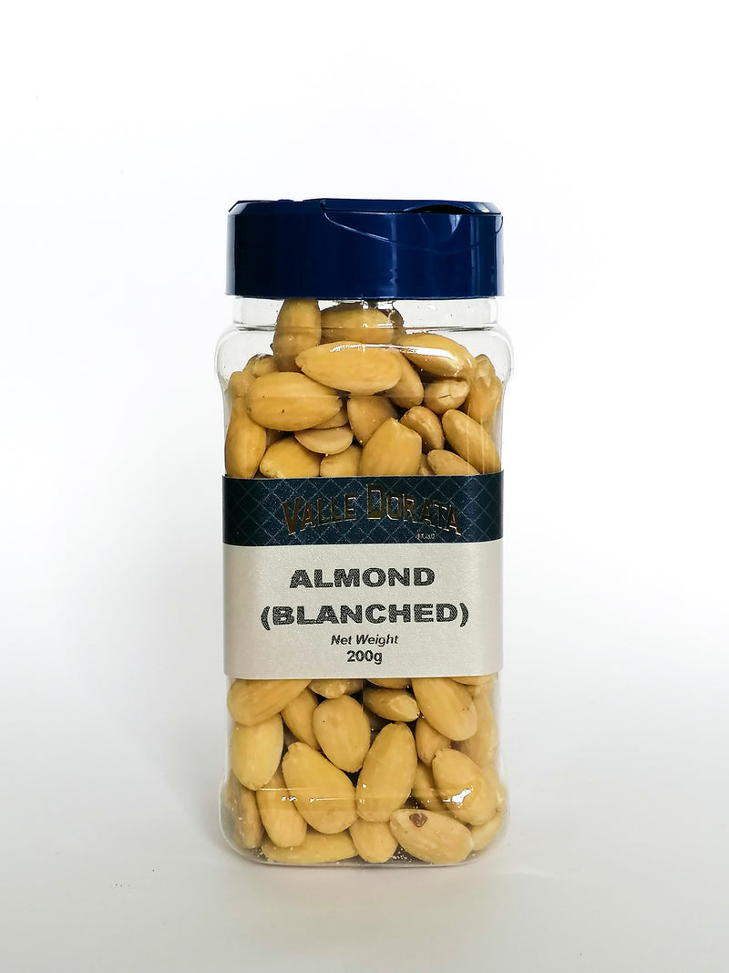 Valle Dorata - Almonds ( Blanched ) 250g - The online warehouse