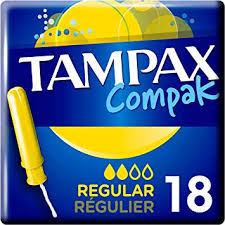 Tampax -  Compak Regular x18 - The online warehouse