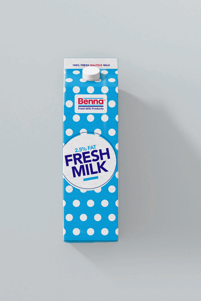 Benna - Semi Skimmed Milk - The online warehouse
