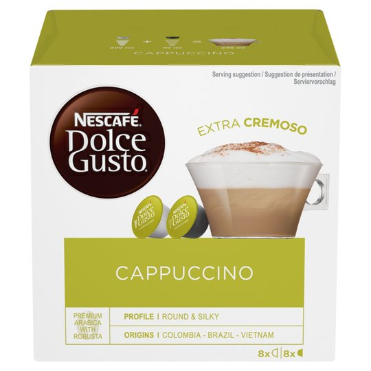 Nescafe Dolce Gusto Cappuccino - The online warehouse