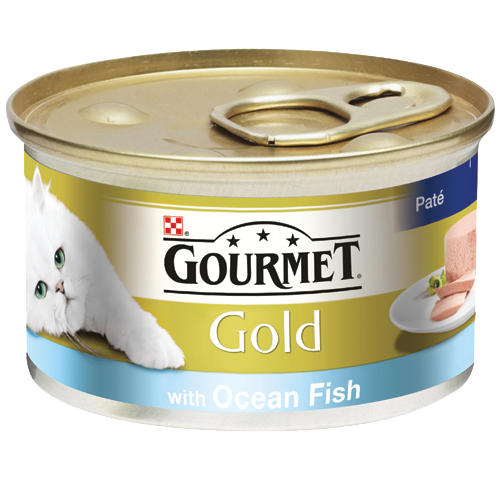 Purina Gourmet gold Ocean Fish 85g - The online warehouse