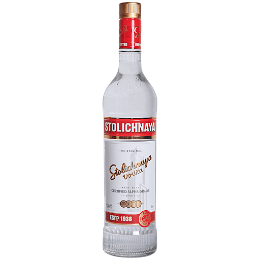 Stolichnaya Vodka 700ml - The online warehouse