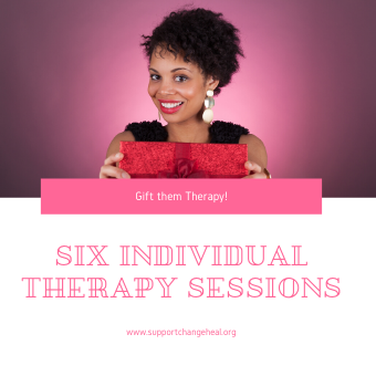 Gift Voucher - 6 Individual Therapy Sessions