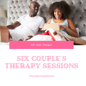 Gift Voucher - 6 Couple's Therapy Sessions