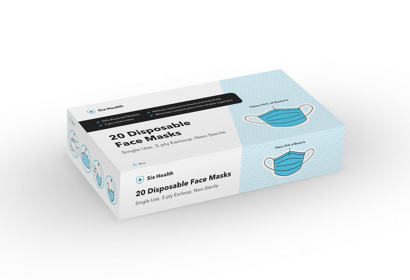 Face Masks Type IIR - from under £0.27 per mask