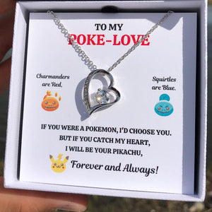TO MY POKE-LOVE HEART NECKLACE GIFT SET - ON CLOUD NINE GIFTS