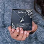 "TO MY SOULMATE ""FIND YOU SOONER"" HEART NECKLACE GIFT SET - ON CLOUD NINE GIFTS"