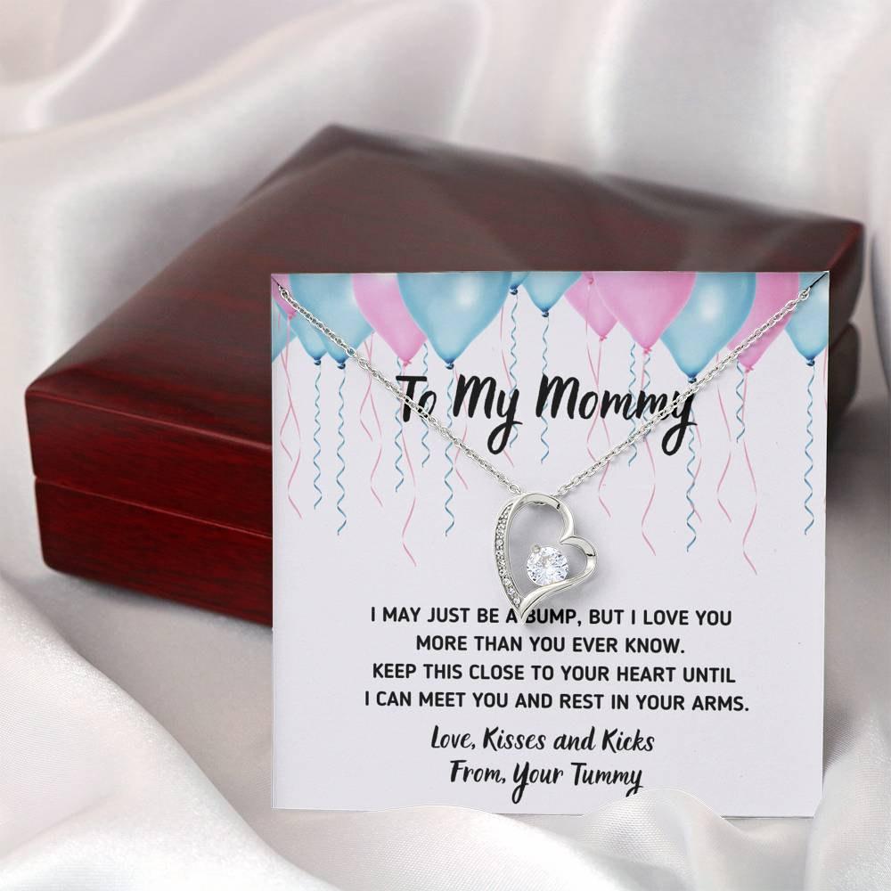 "TO MY MOMMY ""CELEBRATION"" HEART NECKLACE GIFT SET - ON CLOUD NINE GIFTS"