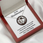 "TO MY SHIELDMAIDEN ""ALWAYS WILL - RED"" HEART NECKLACE GIFT SET - ON CLOUD NINE GIFTS"
