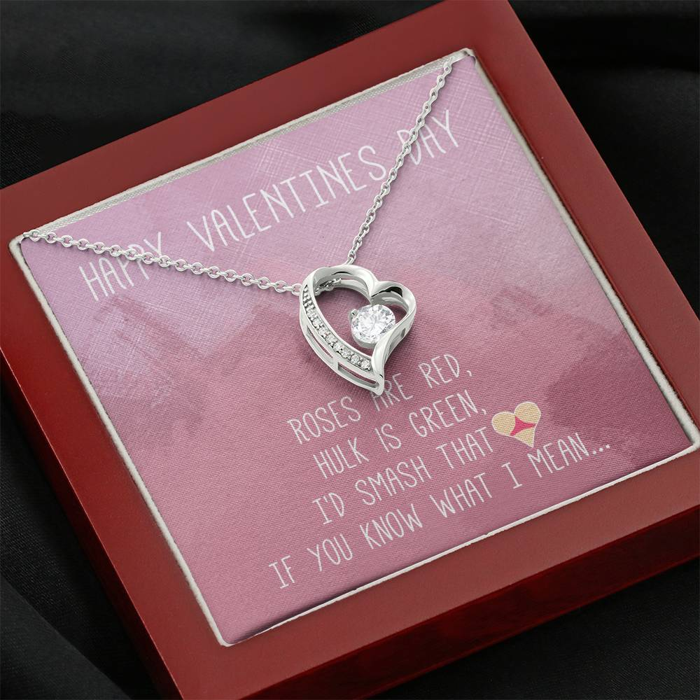 "TO MY LOVE ""BUTT"" HEART NECKLACE VALENTINES DAY GIFT SET - ON CLOUD NINE GIFTS"