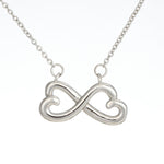 "TO MY MOMMY ""BABY FEET - WHITE"" INFINITY NECKLACE GIFT SET - ON CLOUD NINE GIFTS"