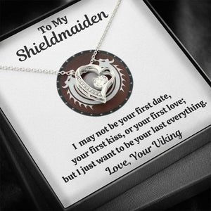 "TO MY SHIELDMAIDEN ""LAST EVERYTHING - RED FOREVER LOVE NECKLACE GIFT SET - ON CLOUD NINE GIFTS"