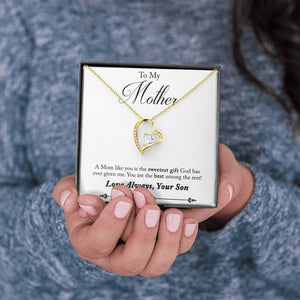 "TO MY MOTHER ""AMONG THE REST - SO"" FOREVER LOVE NECKLACE GIFT SET - ON CLOUD NINE GIFTS"