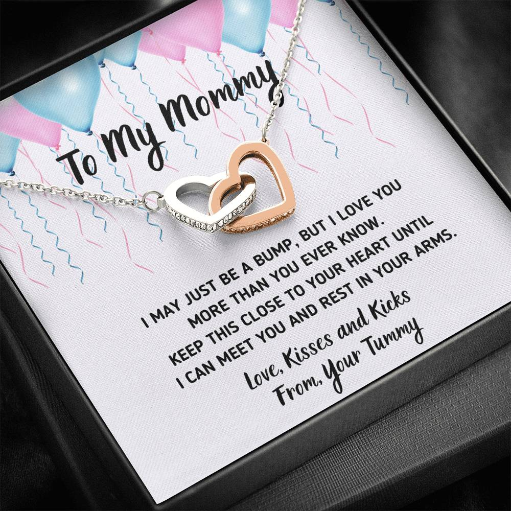 "TO MY MOMMY ""CELEBRATION"" INTERLOCKING NECKLACE GIFT SET - ON CLOUD NINE GIFTS"