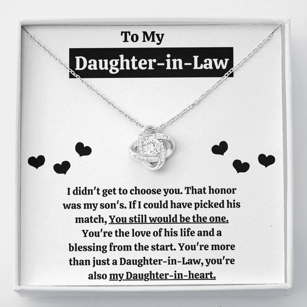"TO MY DAUGHTER-IN-LAW ""BLESSING FROM THE START"" - ON CLOUD NINE GIFTS"