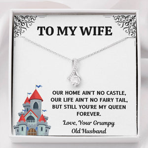 "TO MY WIFE ""CASTLE"" ALLURING BEAUTY NECKLACE GIFT SET - ON CLOUD NINE GIFTS"