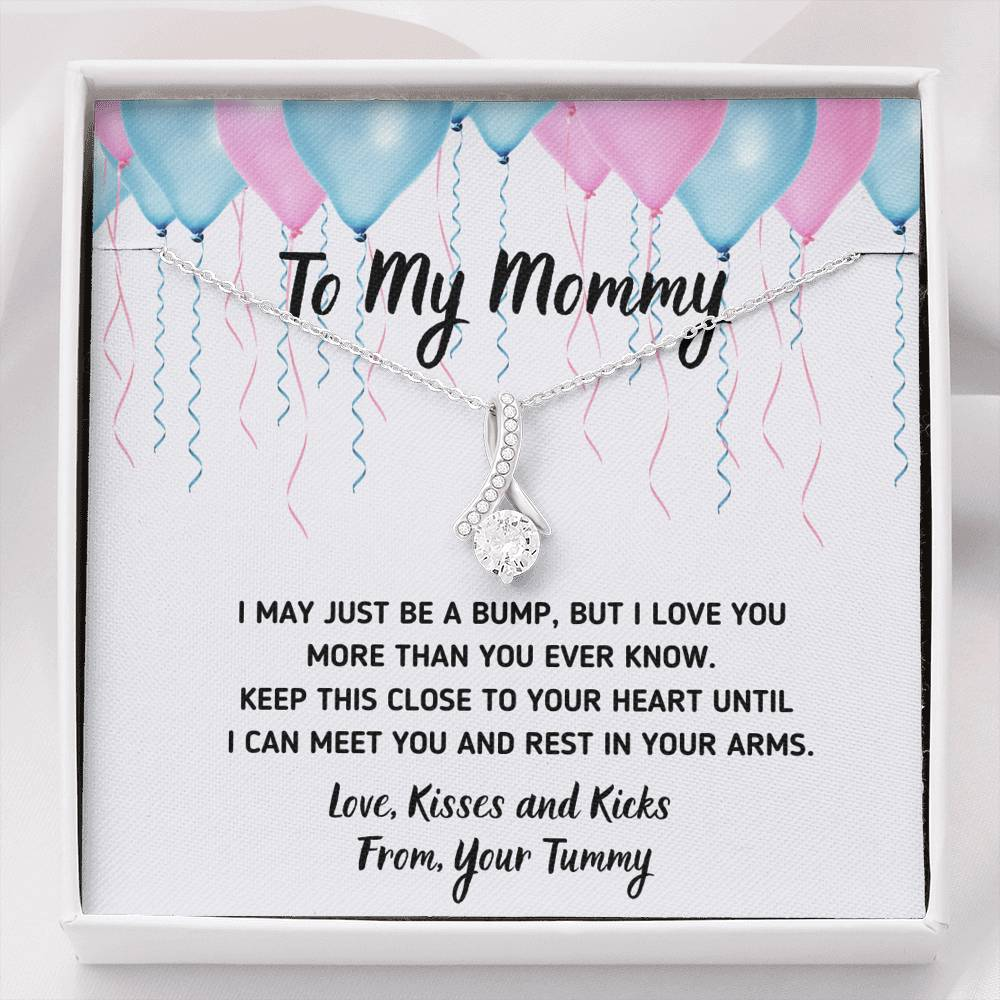 "TO MY MOMMY ""CELEBRATION"" ALLURING BEAUTY NECKLACE GIFT SET - ON CLOUD NINE GIFTS"