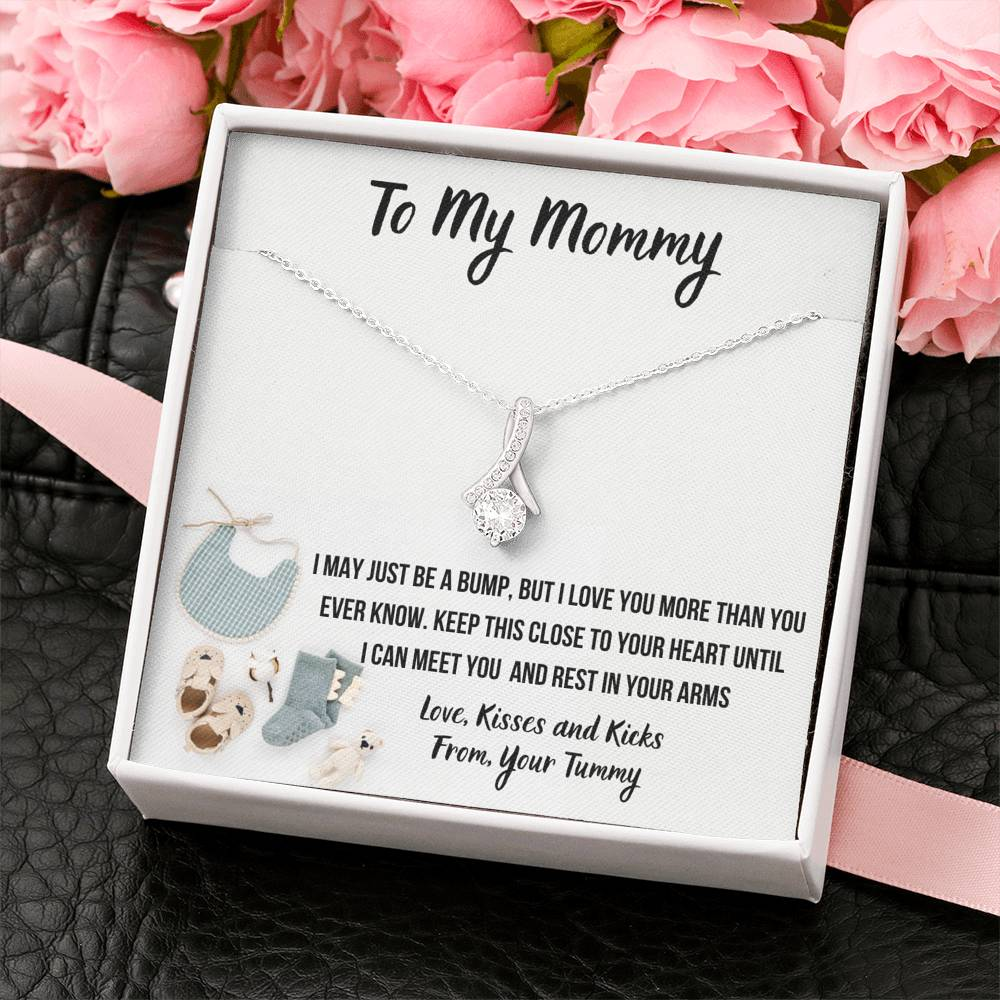"TO MY MOMMY ""BABY FASHION"" ALLURING BEAUTY NECKLACE GIFT SET - ON CLOUD NINE GIFTS"