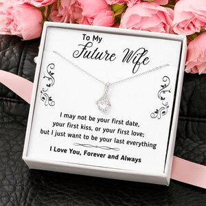 TO MY FUTURE WIFE ALLURING BEAUTY NECKLACE | MESSAGE CARD | GIFT BOX - ON CLOUD NINE GIFTS