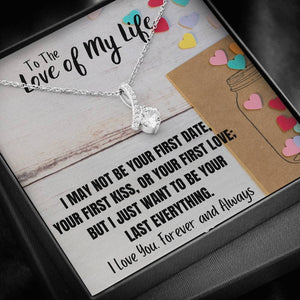"TO THE LOVE OF MY LIFE ""LAST EVERYTHING"" ALLURING BEAUTY NECKLACE GIFT SET - ON CLOUD NINE GIFTS"