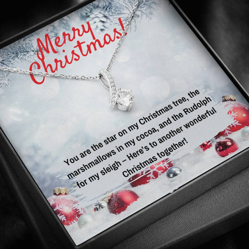 MERRY CHRISTMAS ALLURING BEAUTY NECKLACE GIFT SET - ON CLOUD NINE GIFTS