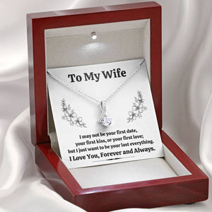 TO MY WIFE ALLURING BEAUTY NECKLACE GIFT SET - ON CLOUD NINE GIFTS