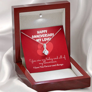 "TO MY LOVE ""TOMORROW"" ALLURING BEAUTY NECKLACE ANNIVERSARY GIFT SET - ON CLOUD NINE GIFTS"