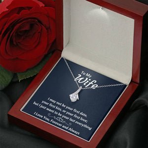 "TO MY WIFE ""YOUR LAST EVERYTHING"" ALLURING BEAUTY NECKLACE GIFT SET - ON CLOUD NINE GIFTS"