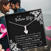 "TO MY FUTURE WIFE ""FIND YOU SOONER"" ALLURING BEAUTY NECKLACE GIFT SET - ON CLOUD NINE GIFTS"