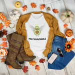UNISEX FUNNY HOLY GUACAMOLE T-SHIRT - ON CLOUD NINE GIFTS