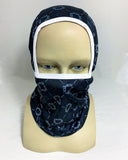 Monogram Multifunction Ski Mask - Black