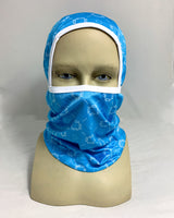 Monogram Multifunction Ski Mask - Ice Blue