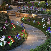 Load image into Gallery viewer, Solar Powered Lily Flower Light - 2 Pack | The Galaxy Lite ™️