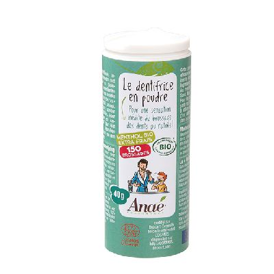 Dentifrice Poudre Menthol 40G