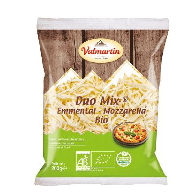 Duo Mix Emmental Mozzarell Rape 200g Valmartin